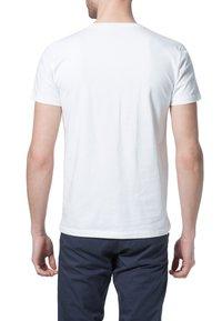 Filippa K - SOFT LYCRA NECK - T-shirt basic - white - 4