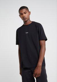 BOSS - TCHUP - Basic T-shirt - black - 0