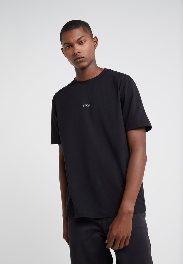 TCHUP - T-shirt con stampa - black