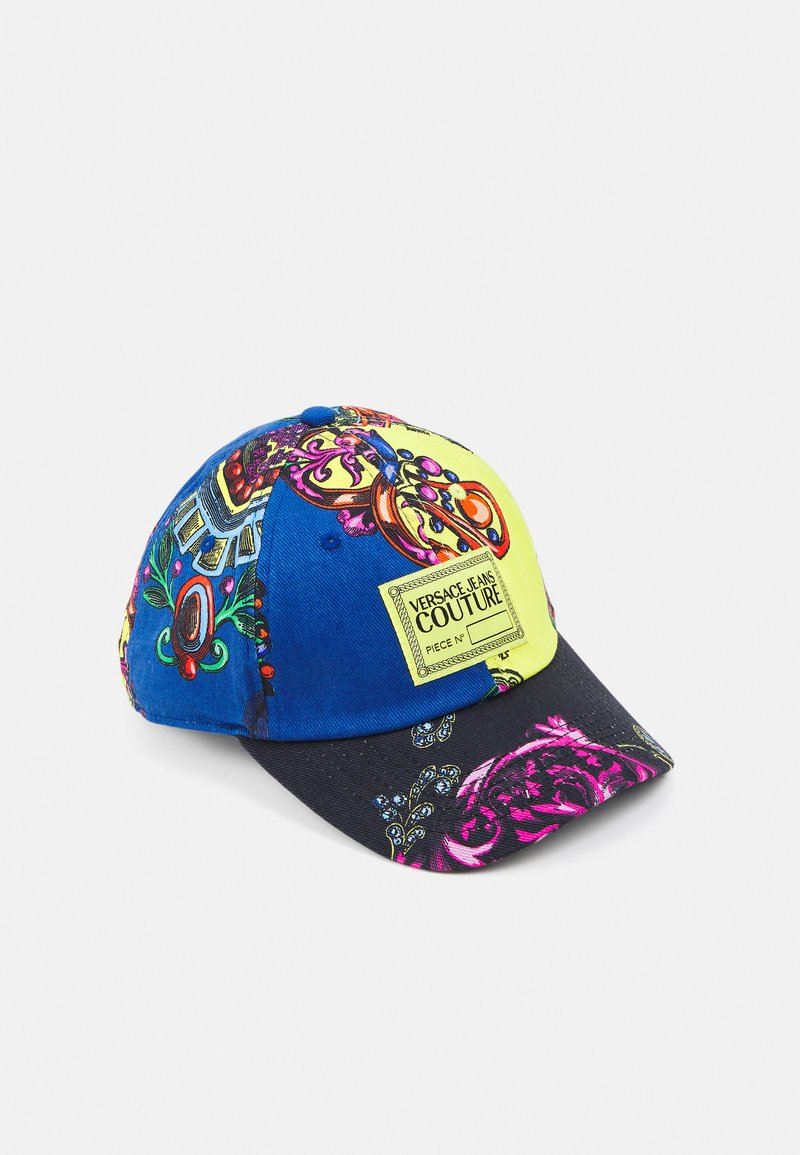 Versace Jeans Couture - BASEBALL CAP WITH CENTRAL SEWING UNISEX - Cap - multi-coloured