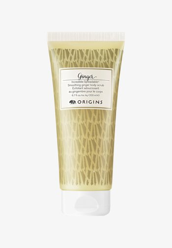 INCREDIBLE SPREADABLE SMOOTHING GINGER BODY SCRUB 200ML