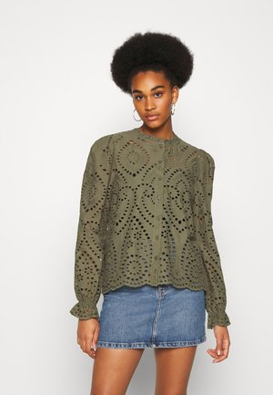 GABRIELLA BLOUSE - Skjorte - olive night