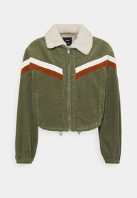 Cotton On - RETRO JACKET - Light jacket - khaki - 4