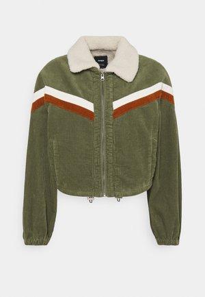 RETRO JACKET - Light jacket - khaki