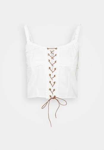 BOHO CAMI - Top - white