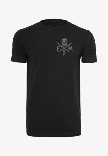 STICK IT - Print T-shirt - black