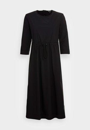 GABRIELALF LONG DRESS WOMAN - Day dress - black