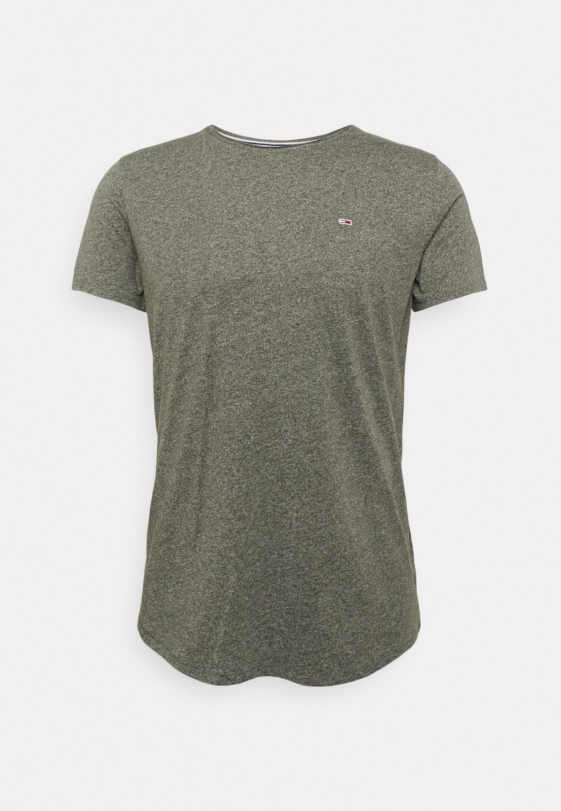 Hombre SLIM JASPE C NECK - Camiseta básica