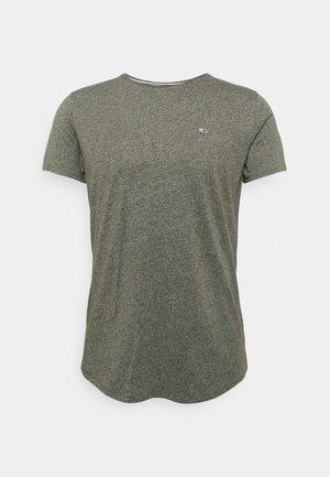 JASPE NECK - Basic T-shirt - dark olive