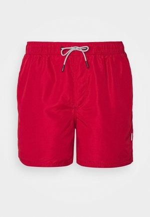 JJIARUBA SWIM  SHORTS - Swimming shorts - rio red