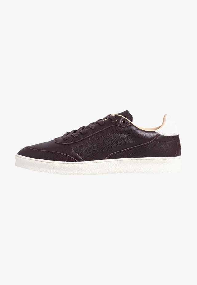 SLEEK - Sneakersy niskie - dark brown
