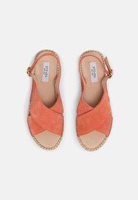 Steven New York - MARLIE - Platform sandals - coral suede - 4