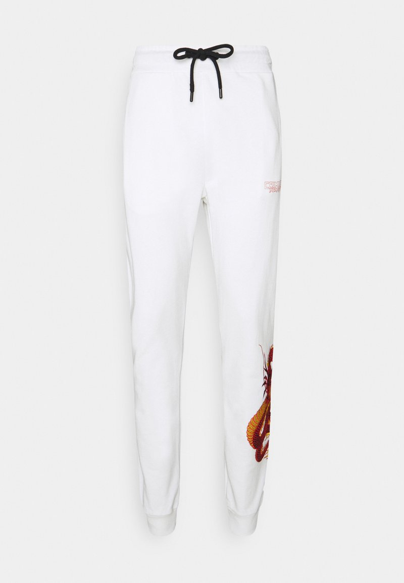 Criminal Damage - DRAGON JOGGER - Tracksuit bottoms - offwhite