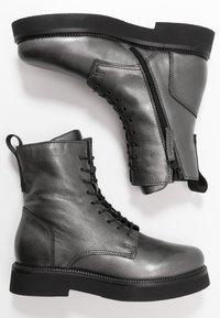 MJUS - Zimní obuv - gunmetal - 3