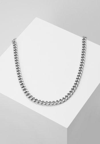 HEAVY HIT NECKLACE - Necklace - antique silver-coloured