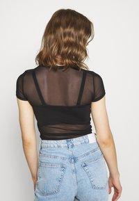Nly by Nelly - PERFECT - Basic T-shirt - black - 2