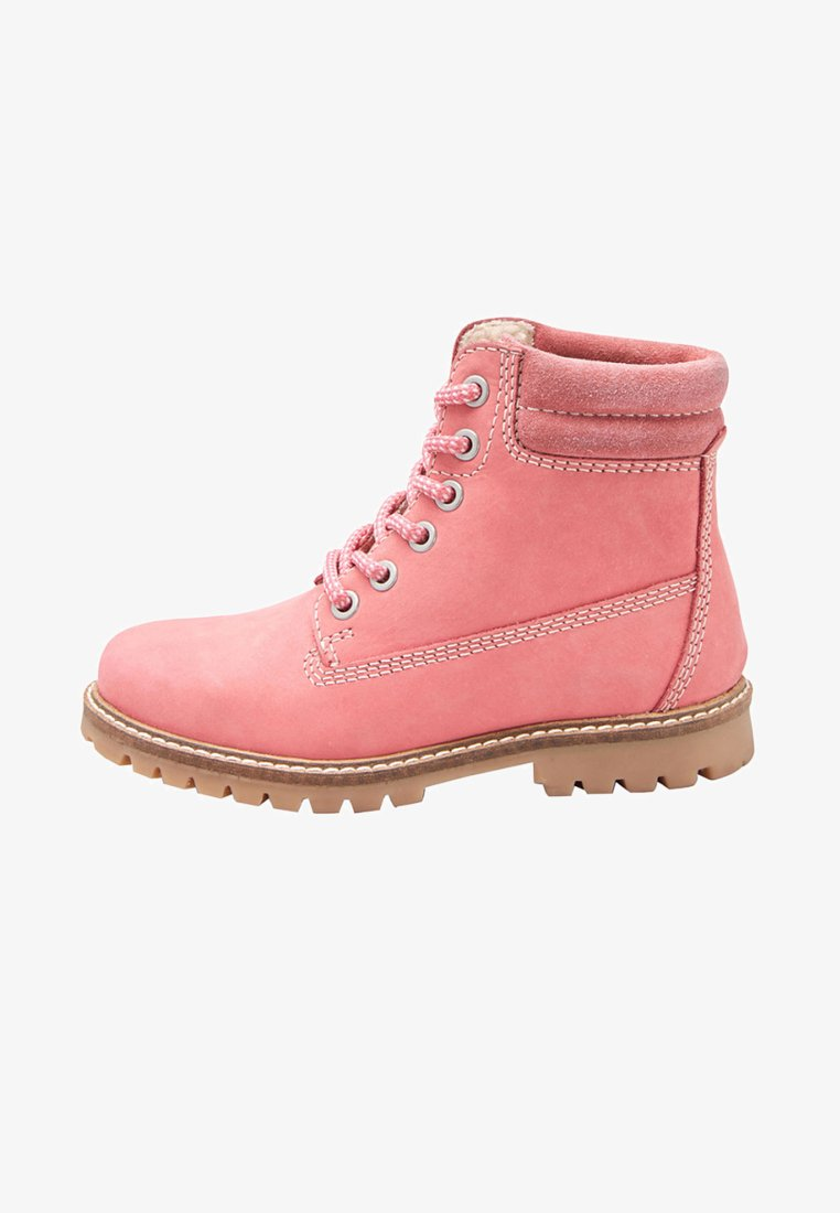 Next - Lace-up ankle boots - pink
