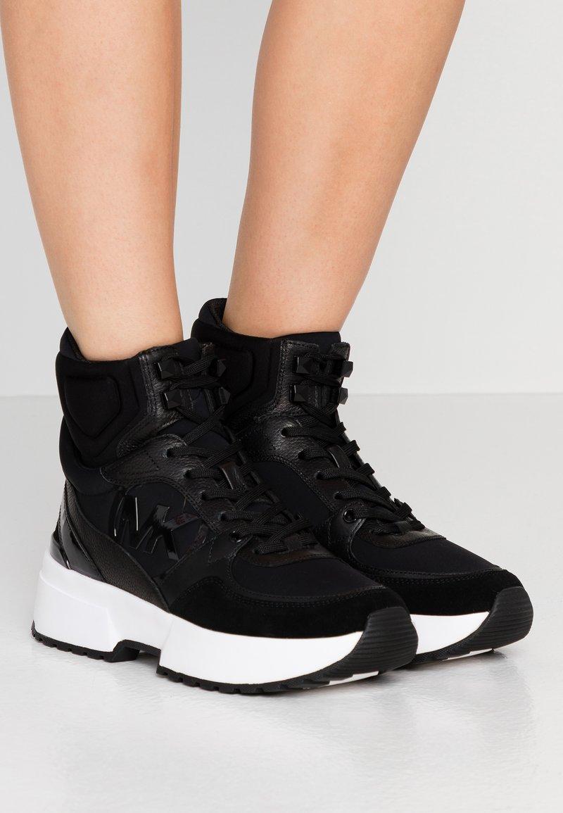 MICHAEL Michael Kors - BALLARD  - High-top trainers - black