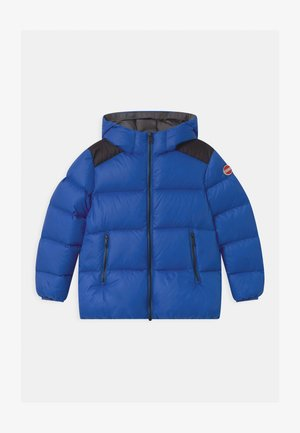 BOY HOODED - Winterjacke - blue curacao