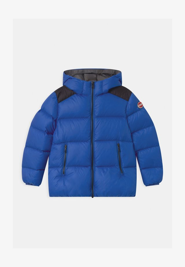 BOY HOODED - Winter jacket - blue curacao