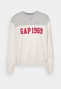 GAP - LOGO - Sweatshirt - oatmeal heather - 0