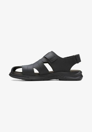 COVE - Walking sandals - black leather