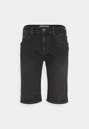 RONNIE RLXD - Farkkushortsit - black denim