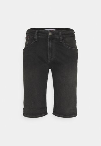 RONNIE RLXD - Denim shorts - black denim