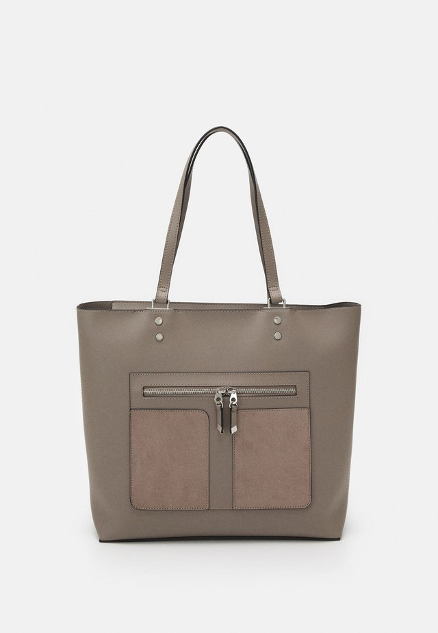 TAYLOR TOTE - Shopping bag - mid grey