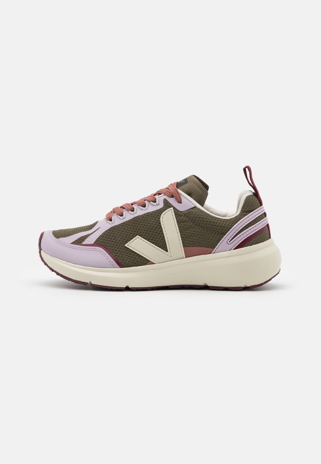 CONDOR 2 - Neutral running shoes - kaki/pierre/parme