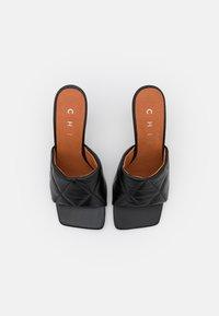 Chio - Ciabattine - black tibet - 5