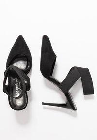 New Look - SELASTIC - High heels - black - 3