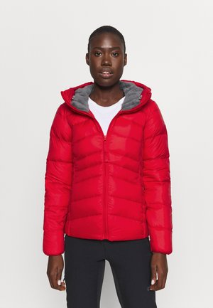 AUTUMN PARK HOODED JACKET - Down jacket - red