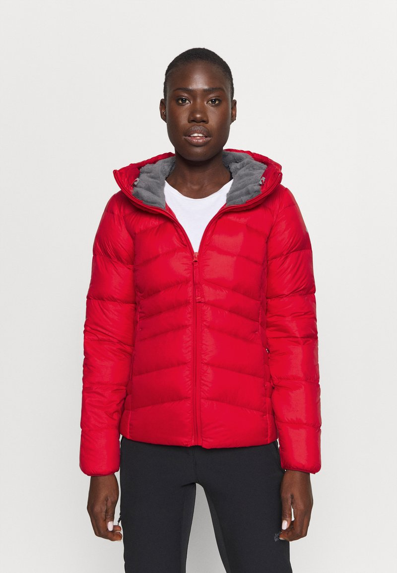Columbia - AUTUMN PARK HOODED JACKET - Down jacket - red