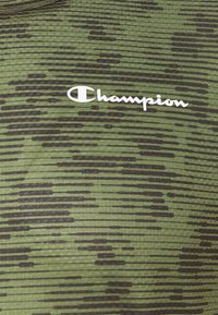 Champion - CREWNECK  - Print T-shirt - khaki - 5
