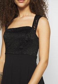 WAL G PETITE - SQUARE NECK SHOULDERS DRESS - Sukienka letnia - black - 5