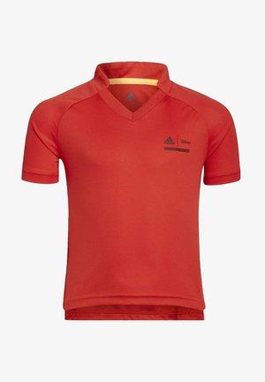 DISNEY COMFY PRINCESSES JERSEY - Print T-shirt - red