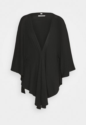 SOLID PONCH - Cape - black