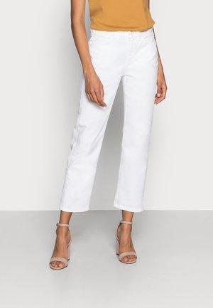 DENIM TROUSER - Straight leg jeans - white