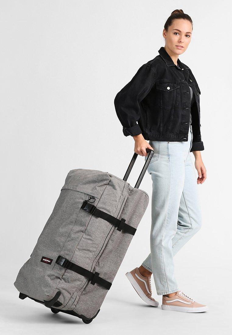 Eastpak - TRANVERZ L - Wheeled suitcase - sunday grey