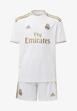 REAL MADRID HOME MINI KIT - Sports shorts - white