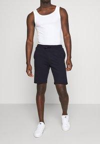 Pier One - Spodnie treningowe - dark blue - 0