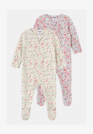 LONG SLEEVE ZIP 2 PACK UNISEX - Pijama de bebé - multi-coloured
