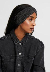 Even&Odd - 2 PACK - Ear warmers - mustard/black - 1