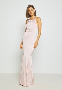 Nly by Nelly - RITZY FRINGE GOWN - Gallakjole - champagne - 0
