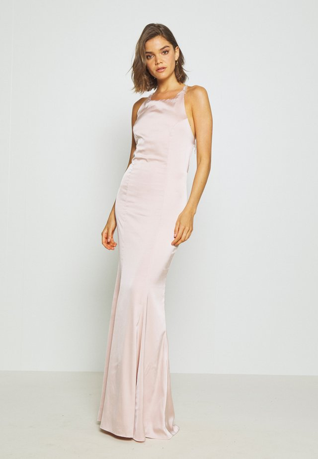 RITZY FRINGE GOWN - Robe de cocktail - champagne