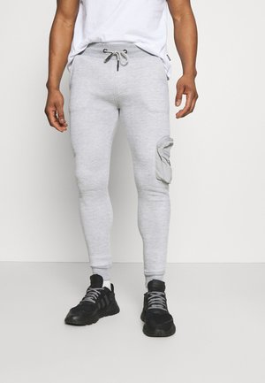 HOUDINI - Tracksuit bottoms - light grey marl