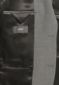 Esprit Collection - TROPICAL SUIT - Oblek - light grey - 8