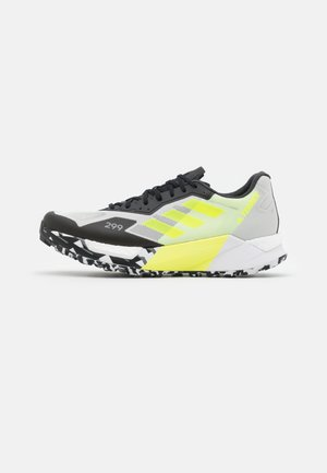 TERREX AGRAVIC ULTRA - Trail running shoes - footwear white/grey two/core black