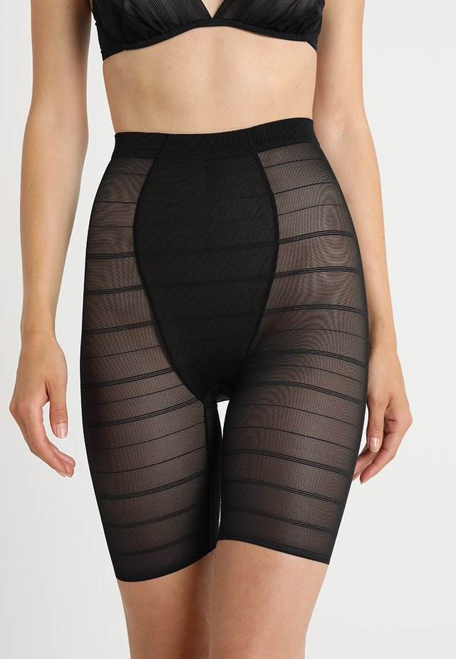 SEXY HIGH WAIST LONG LEG - Shapewear - black
